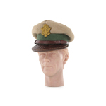 US Army officers overseas visor
