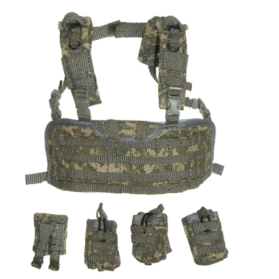 Body chest with M14 mag pouches