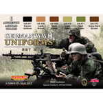 German WWII Military Uniforms Paint Set (Type B)