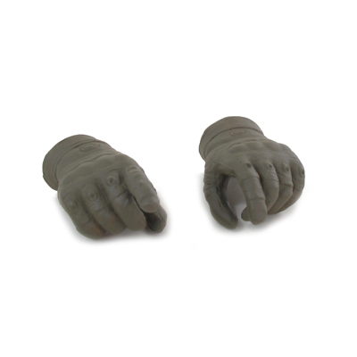 Gloved Hands (Olive Drab)