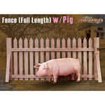 Fence (Full Length) with pig