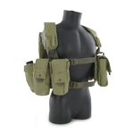 IDF combat harness with pouches
