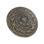 Diecast Parmula Rounded Shield (Bronze)