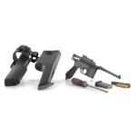 C96 Pistol with Holster (Grey)
