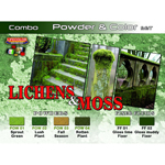 Lichens and Moss Paint Set