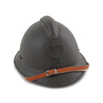 French M26 Troupe d'Afrique Adrian Helmet (Olive Drab)