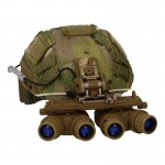 Maritime Cut Helmet with GPNVG-18 NVG (Multicam)