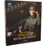 WWII German Communications 2 WH Major General - Drud