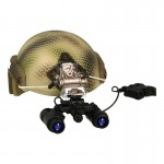 Fast Maritime Cut Helmet with PVS-31 NVG (Snake Skin)