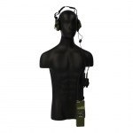 PRC-152 Radio with Sordin Headset and X-50 PTT (Olive Drab)