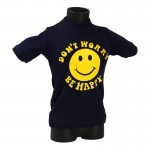 Don't Worry Be Happy T-Shirt (Blue)