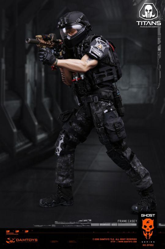 Ghost Serie Titans Pmc Frank Casey Machinegun