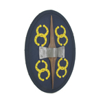 Celtic Warrior Shield (Blue)