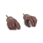 Overlord Gloved Hands (Brown)