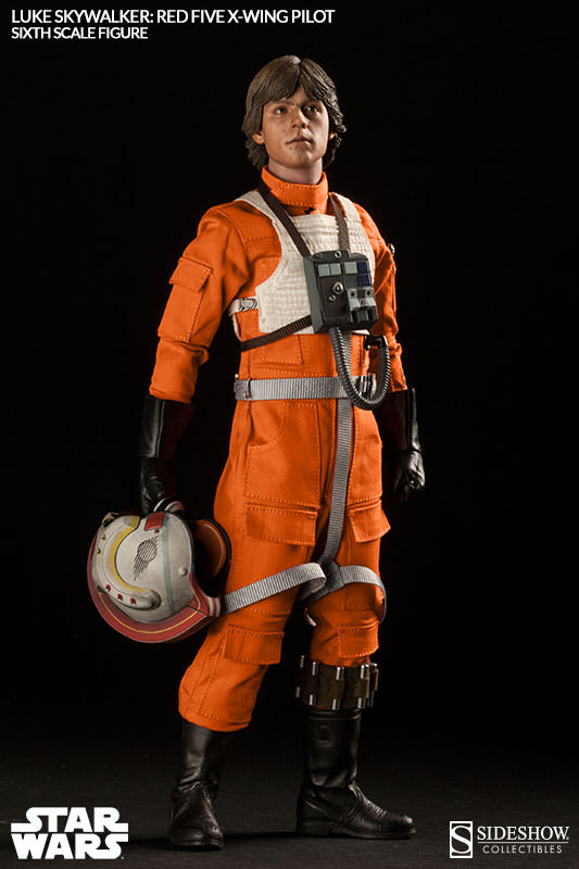 Star Wars , Luke Skywalker  Red Five X,Wing Pilot