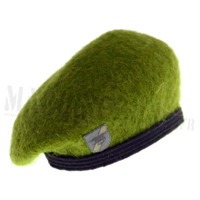Light green seal beret