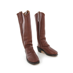 Western Mule Ear Boots (Brown)