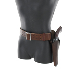 Cowboy pistol and holster set (Brown left)