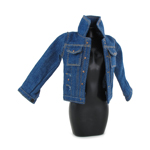 Female Jeans Jacket (Blue)