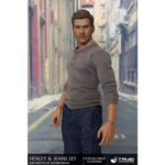 Henley & Jeans Male Outfit Set