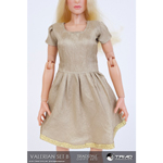 Valerian Female Outfit Set (Beige)
