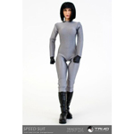Speed Suit (Silver) Female Outfit Set