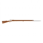 M1777 Musket Rifle with Bayonet (Brown)