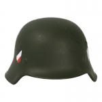 M35 Double Decals Heer Helmet (Olive Drab)