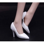 Female Heeled Shoes (White)