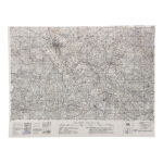 St James Topographic Map (White)