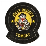 Jolly Rogers Tomcat Patch (Black)