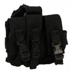 Flashbang Grenades Triple Drop Leg Pouch (Black)