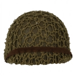Diecast M51 Paratrooper Helmet with Net (Olive Drab)