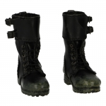 Worn Leather M52 Rangers Boots (Black)