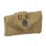 Worn M42 First Aid Pouch (Coyote)