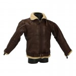 Leather Royal Air Force Irvin Flying Jacket (Brown)