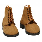 Suede USMC Boondocker Boots (Brown)
