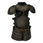 Diecast Female Cross Knight Body Armor (Grey)