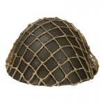 Diecast Type 90 Helmet with Net Cover (Olive Drab)