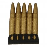 Diecast Lee Enfield 7,92mm Cartridges Clip (Gold)