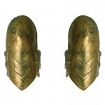 Elvish Shoulder Pads (Gold)