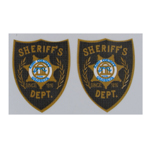 Sheriff's Dept Patches