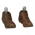 Worn Medieval Shoes (Brown)