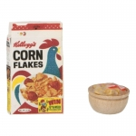 Corn Flakes Pack with Cereals  Bowl (White)