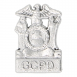 Diecast Gotham City Police Department Badge (Silver)