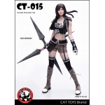 Fantasy Shuriken Girl Set (Coyote)