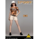 Sport Female Clothing Set (Orange)