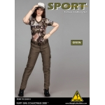 Sport Female Clothing Set (Brown)