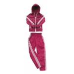 Female Windbreaker Set (Pink)