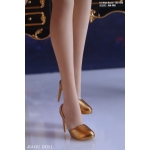 Female High Heeled Shoes (Gold)